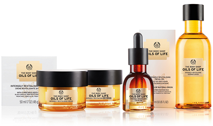 The Body Shop, Oils of Life