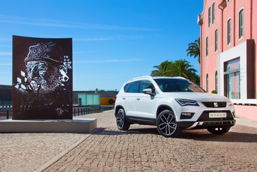 SEAT x Solid Dogma: explosões verticais, carros e obras de arte
