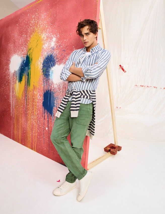 PEPE JEANS SS18 Campaign - MADE TO CREATE- The Artist 3_preview